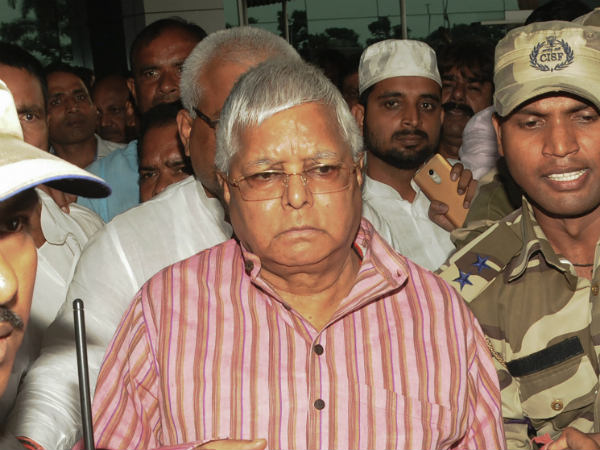 police inspected lalu prasad jail ward over allegation of using phone with political associates