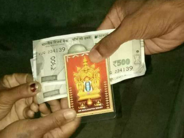 Loksabha elections 2019: Is political party offering one thousand rupees per vote in Mandya