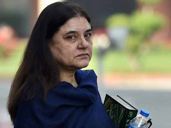 Maneka Gandhi gets notice for threatening Muslim for vote