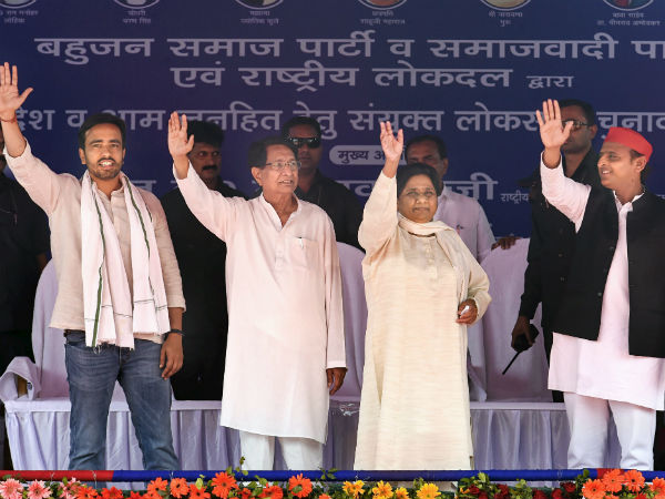 Mayawati, Akhilesh slam BJP, ask West UP to not split Muslim vote by voting for Congress