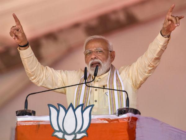 ಮಮತಾ ಬ್ಯಾನರ್ಜಿಯನ್ನು 'ಸ್ಟಿಕ್ಕರ್ ದೀದಿ' ಎಂದು ವ್ಯಂಗ್ಯವಾಡಿದ ಮೋದಿ
