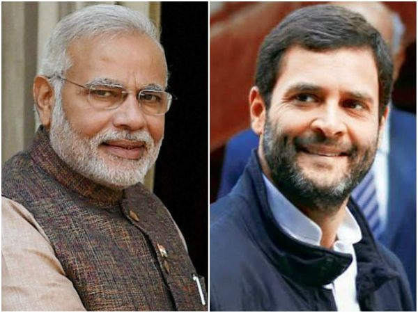 Modi, Rahul Request people to caste vote in 2 different way