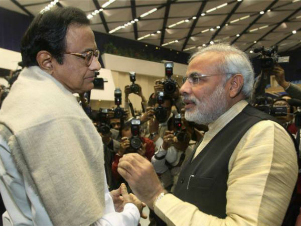 Tired of listening to PM Modi beat his own trumpet on Pakistan: Chidambaram