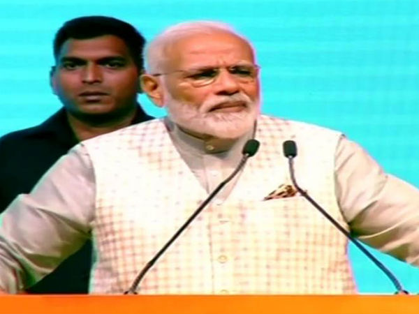 Narendra Modi Addresses A Convention Of Traders Highlights