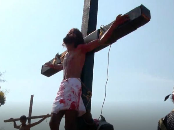 Good Friday is celebrated in Udupi typically