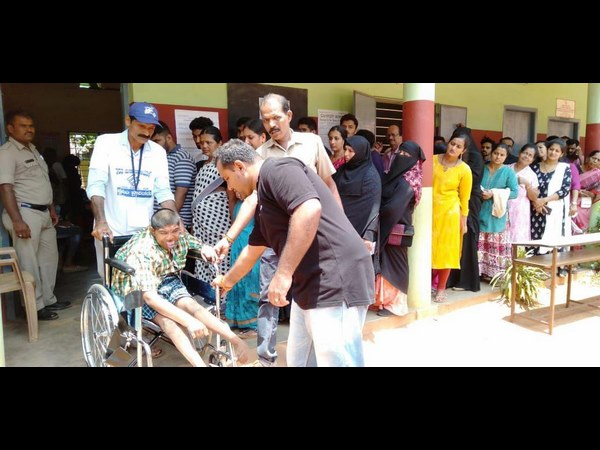 Sick people have voted in coastal district