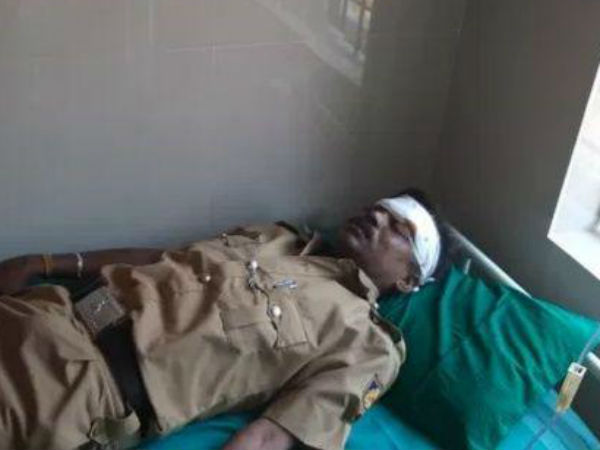 Police staff collapsed during duty in Mugeru