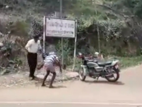 Police harassment on old age man