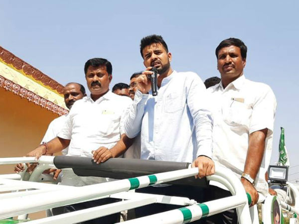 Complaint againt Prajwal Revanna to election commission