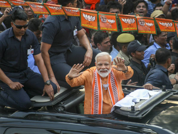 LS polls: PM Modi to file his nomination today, leaders of NDA alliance will be presented