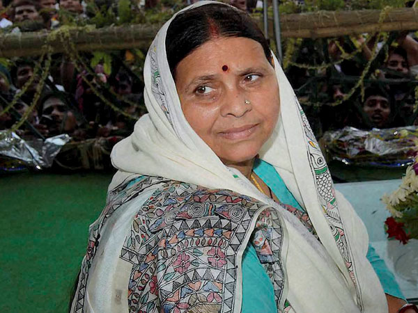 Rabri Devi requests her son to come back home emotionally