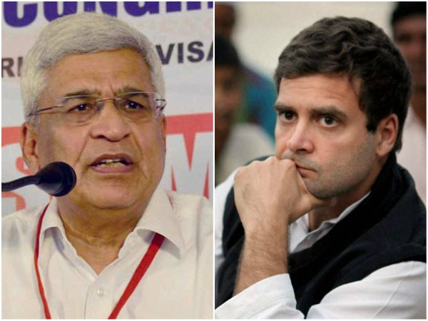 Prakash Karat attacks Congress for Rahul Gandhis candidature in Wayanad