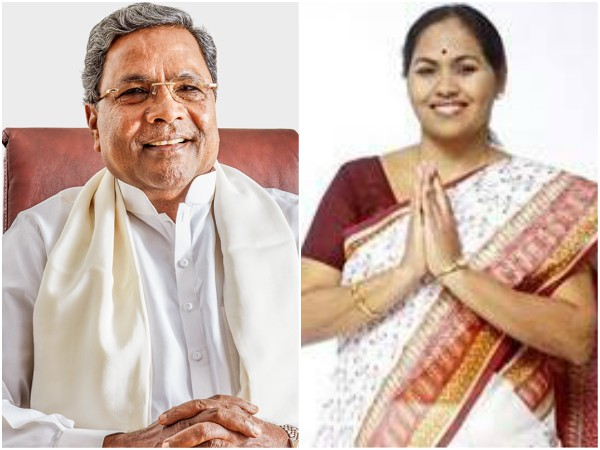 War of words between Siddaramaiah and Shobha Karandlaje