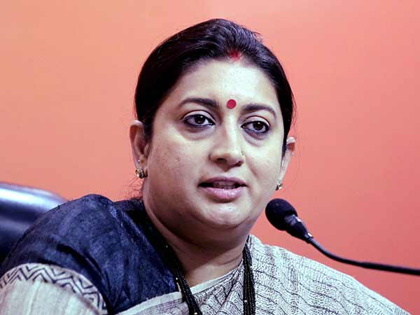 Rahul is Amethis missing MP says smriti irani