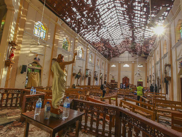 5 Indians Among 290 Killed In Sri Lanka Serial Blasts