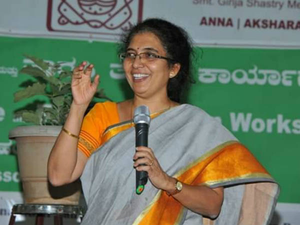 Tejaswini ananth kumar rejects nota campaign allegation