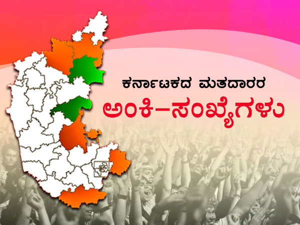 Election Infographics 5 10 Core Voters In Karnataka
