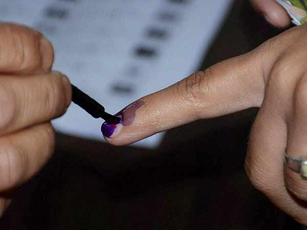 Bengaluru techie Sandeep votes just after wife gives birth