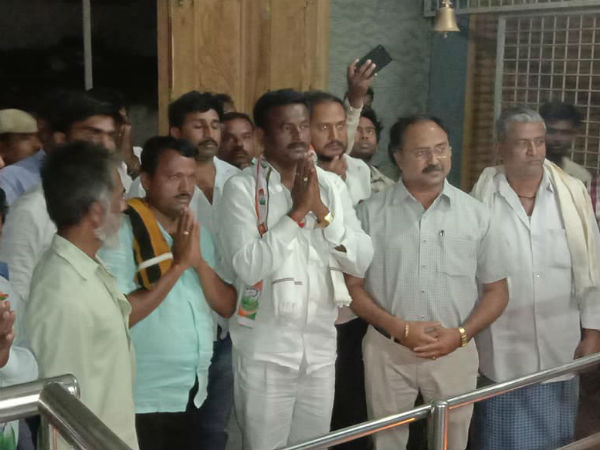 People donated fund for Dvanagere Congress candidate HB Manjappa