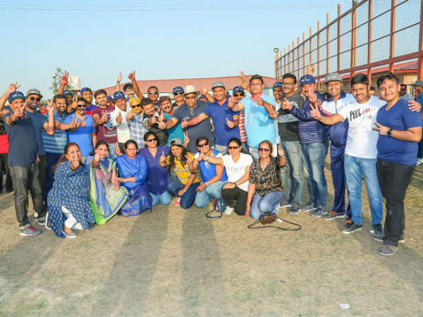 Sports And Holi Celebrate In Kuwait Kannada Koota