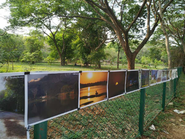 Around 250 photos exhibition held at Life in Kukkarahalli lake photograph