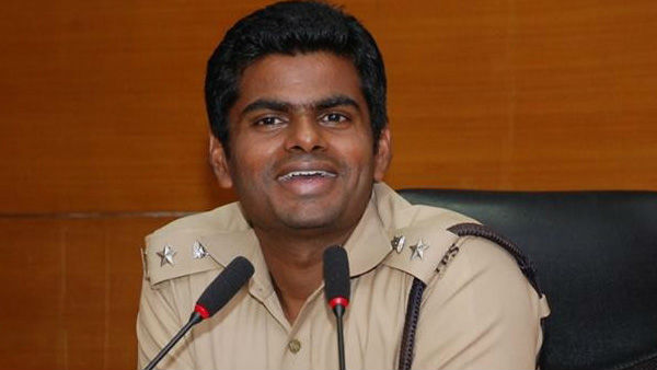 Karnataka Singham Annamalai to resign from police force