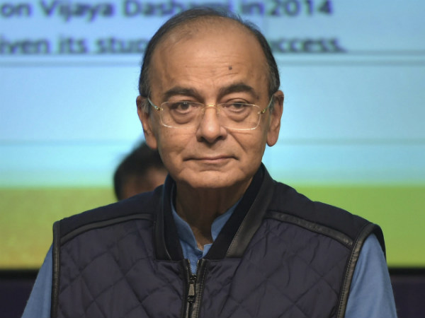 Finance minister Arun Jaitley calls Congress as cry baby