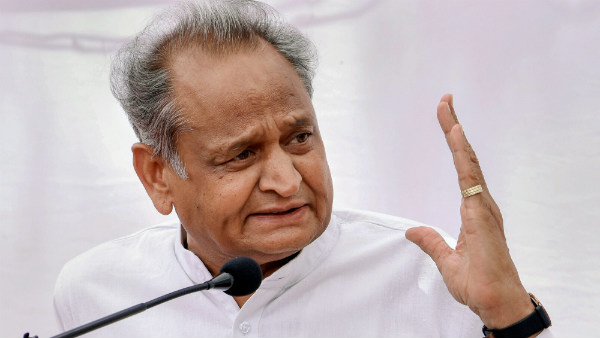 Ashok Gehlot led Congress government in Rajasthan in danger