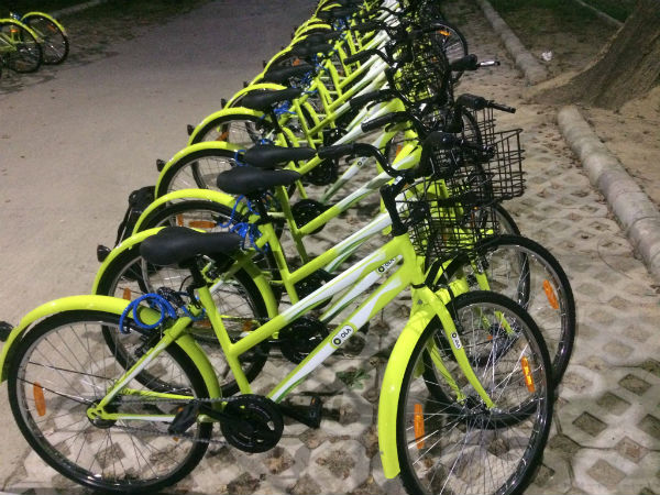 Bicycle rental service in Davanagere soon