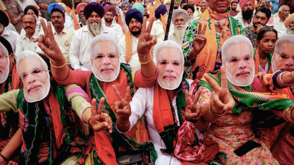 Lok Sabha Election Results 2019 : BJP alone crosses magical number