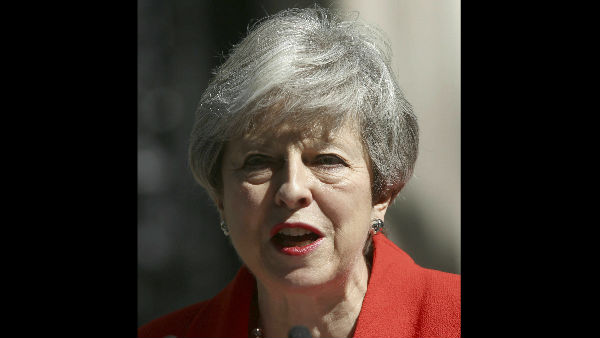 Lok Sabha Election Results Theresa may announces resignation