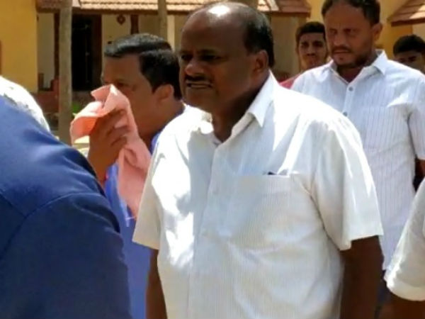 CM Kumaraswamy, HD Deve Gowda concluded Naturopathy treatment