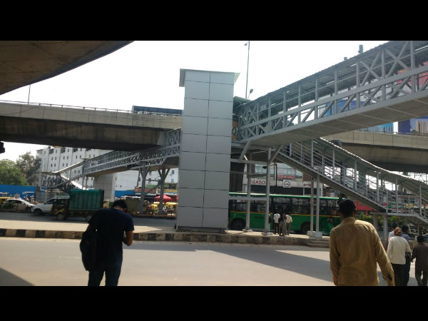 Foot overbridge at Electronic City is ready for public