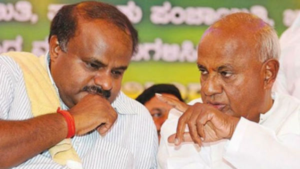 BJP big win in Karnataka: Kumaraswamy met Deve Gowda