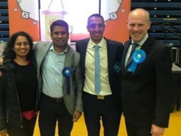 Kannadigas won in UK local elections