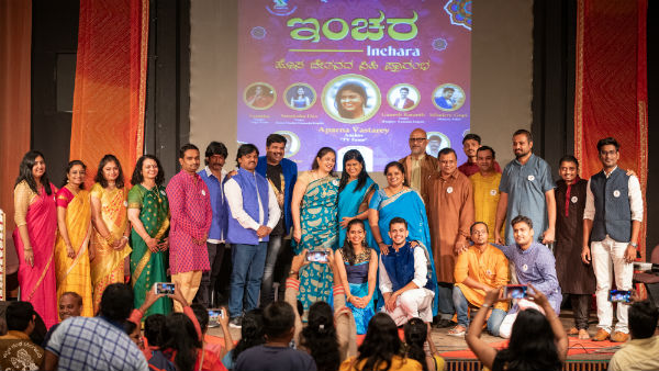 Inchara - musical evening enthralls Kannadigas in Singapore