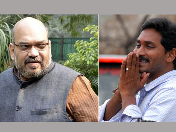 There are rumours of talk between Amit Shah and Jaganmohan Reddy