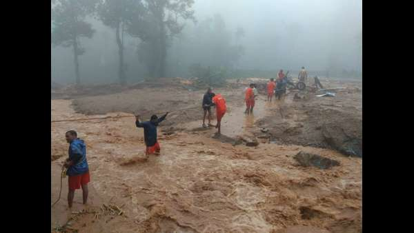 Mysterious sound from beneath of earth; Kodagu people panic about huge rain