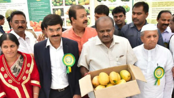 CM Kumaraswamy inaugurated Mango and Jackfruit Mela