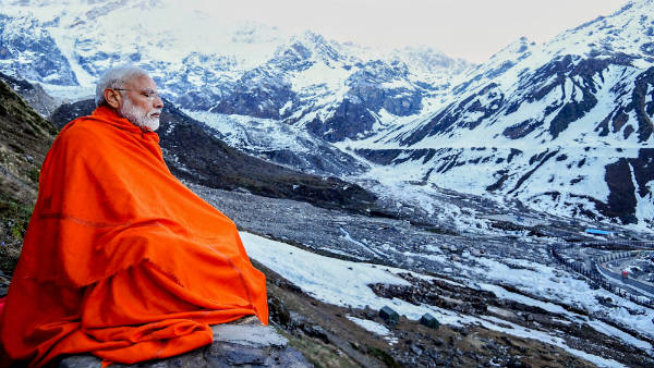 Narendra Modi posts another Majestic picture of Himalaya