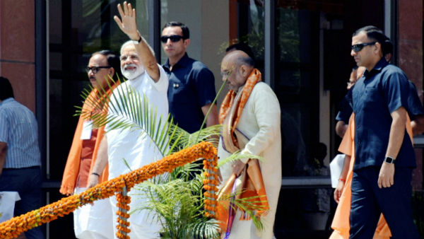 50-60 ministers may take oath along with narendra modi