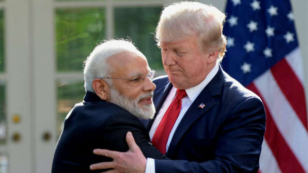 Donald Trump Congratulates Narendra Modi, says Indians are lucky to have him