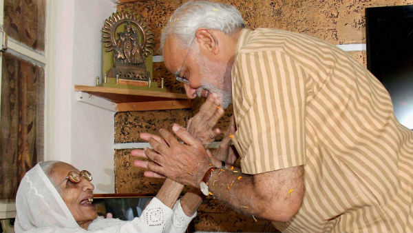 Narendra modi to visit Gujarat to seek blessings of his mother