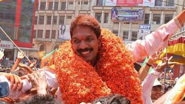 ಹ್ಯಾಟ್ರಿಕ್ ಹೊಡೆದ ನಳಿನ್ ಕುಮಾರ್ ಕಟೀಲ್