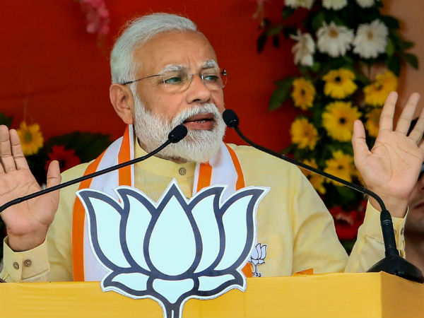 Congresss arrogance were uttered by its senior leader: Narendra Modi
