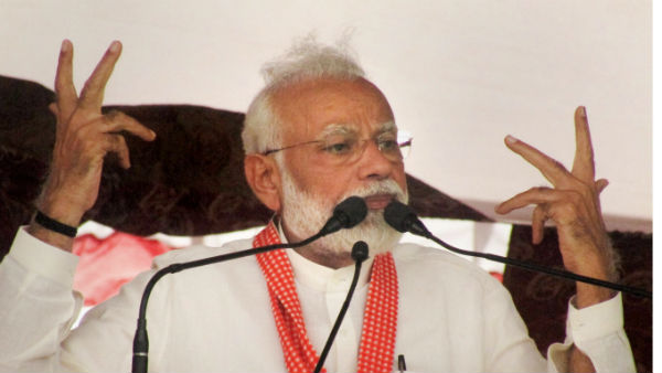 Congress used defence deals as ATM, alleged PM Modi