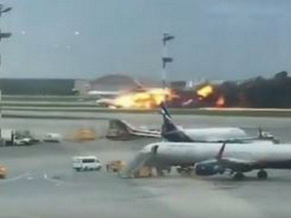 Atleast 51 Killed, Several Injured as Russian Aeroflot Plane Lands With Fire on Board