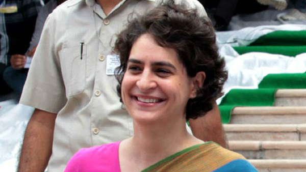 Priyanka urges party workers to not lose hope
