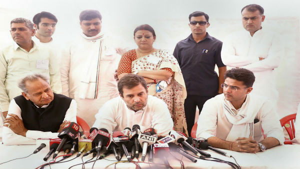 Rahul Gandhi met gang rape victim of Alwar, Rajasthan