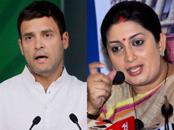 Rahul, Smriti Iranils prestigeous election battle at Amethi